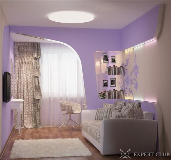 Спальня дизайн с диваном фото