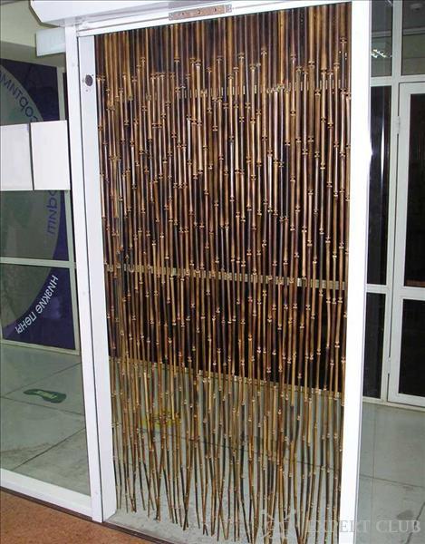 Своими руками бамбуковые шторы