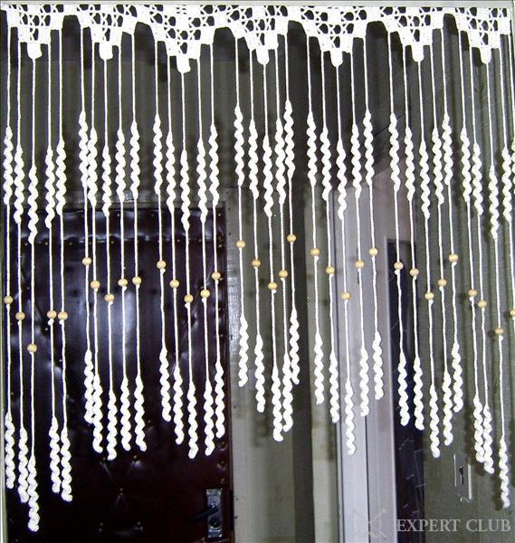 Используем шторы на дверной проем: фото, видео, советы использования