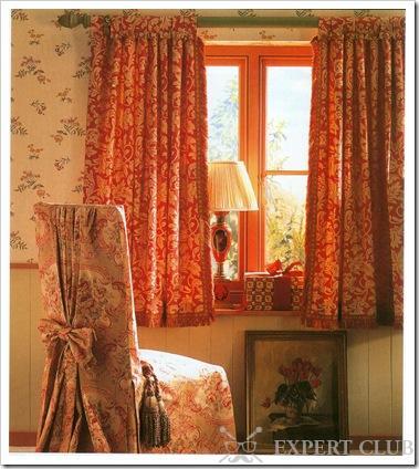 Короткие шторы своими руками фото