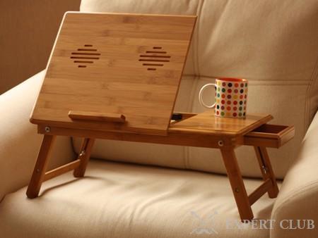Столик для ноутбука в кровать: фото, видео, цена - работаем