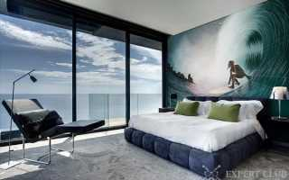 Дизайн спальни с фотообоями: совмещаем правильно