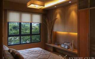 Спальня 10 кв.м. — экспериментируем с очень ограниченным местом