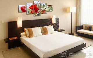 Картины для спальни: особенности использования