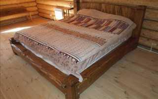 Кровати под старину в интерьере спальни