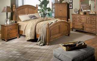 Спальня в стиле кантри – деревенский уют в городской квартире