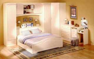 Модульная мебель для спальни: особенности выбора и использования