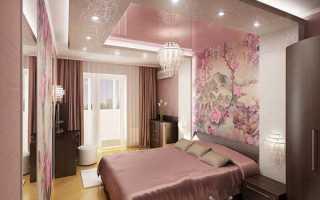 Розовая спальня — смелое решение