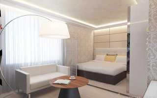 Перегородка в спальне: эффективный инструмент зонирования комнаты