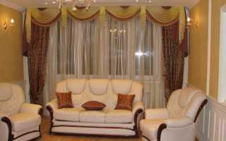 Портьерные шторы в дизайне квартиры