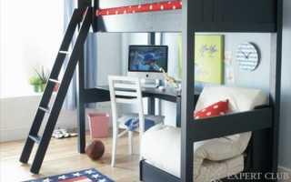 Спальня для мальчика: обустройство