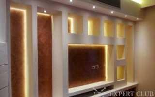 Гипсокартонные конструкции в спальне: основные и дополнительгные