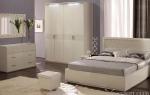 Мебель для спальни «Белый Глянец» — элитный гарнитур в вашей спальне