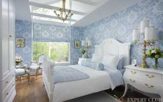 Цвет обоев для спальни: особенности выбора