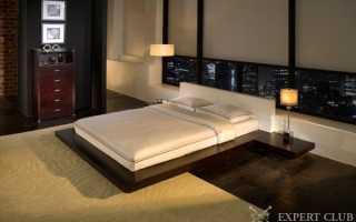Кровать в японском стиле: восточный интерьер спальни