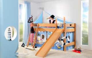 Кровать с игровой зоной – два в одном