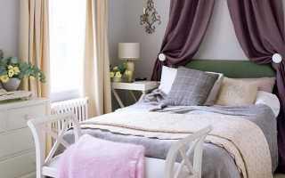 Дизайн малометражной спальни (15 кв.м.)