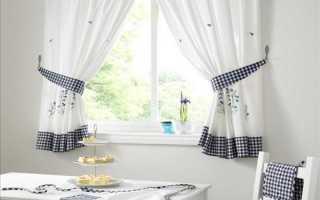 Кухонные шторы – создаем правильный интерьер на кухне