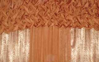 Буфы на шторах — использование в современном интерьере