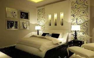 Комбинированные обои для спальни — отличное решение для интерьера