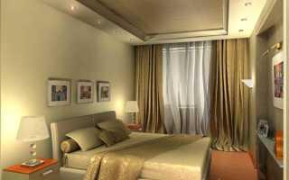 Продумываем дизайн спальни 16 кв. м