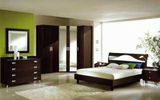 Спальня Венге