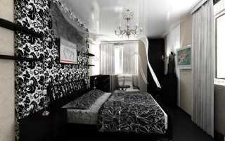Дизайн узкой спальни в малогабаритных квартирах