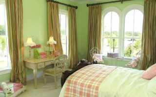 Какие шторы подойдут к зеленым обоям? Советы и рекомендации