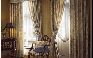 Шторы и занавески – украшаем окна со знанием дела