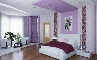 Фиолетовая спальня: властность и страсть
