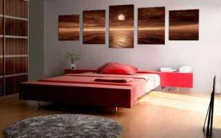 Какую картину повесить в спальне чтобы радовался глаз