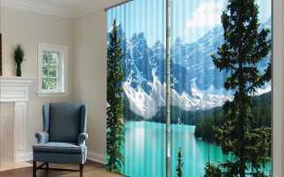 Шторы с фотопечатью с эффектом 3d — эксклюзивное украшение комнаты