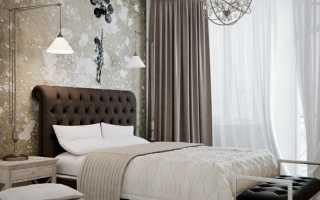 Спальня в шоколадных тонах — необычный оттенок интерьера