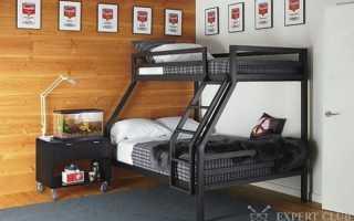 Двухэтажная кровать для детей: особенности расположения и сборки