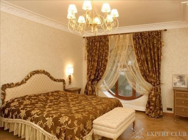 шторы и покрывала для спальни подбираем правильно