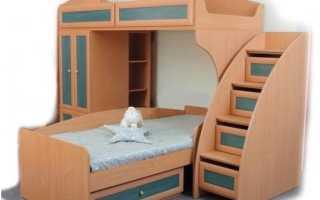 Лестница для кровати: какие бывают виды