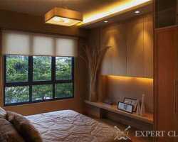 Спальня 10 кв.м. – экспериментируем с очень ограниченным местом