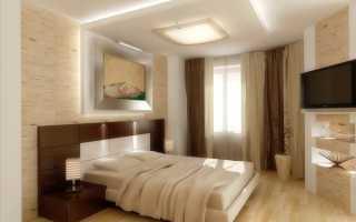 Натяжные потолки в спальне – виды и особенности