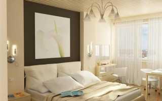 Интерьер спальни в хрущевке – экономим квадратные метры