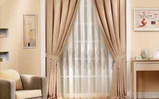 Классические шторы – универсальный вариант для любого интерьера