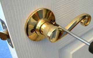 Как на Новый стиль двери смонтировать ручку: поэтапная инструкция