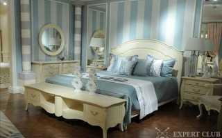 Кровати в стиле прованс в спальню