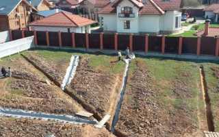 (Русский) Проектирование правильной дренажной системы для защиты фундаментов от грунтовых вод