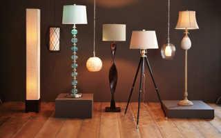 Светильники в интернет — магазине