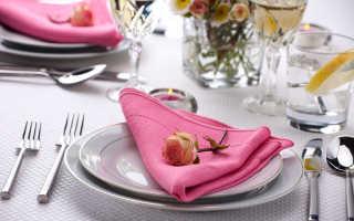 Красивое оформление и сервировка стола – залог приятного аппетита
