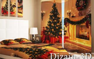 Новогодние шторы – праздник в вашем доме
