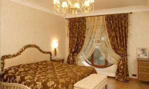 Шторы и покрывала для спальни – подбираем правильно