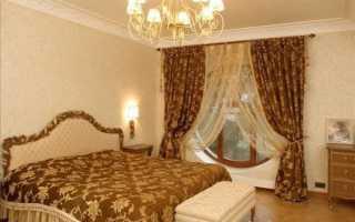 Шторы и покрывала для спальни — подбираем правильно