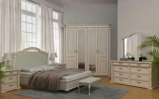 Мебель в спальню из массива