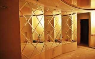 Изготовление зеркальных поверхностей